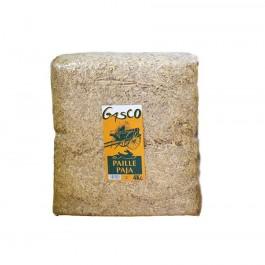 Gasco Litière Paille Naturelle pour Rongeur et Volaille 0.8 kg - La Compagnie Des Animaux