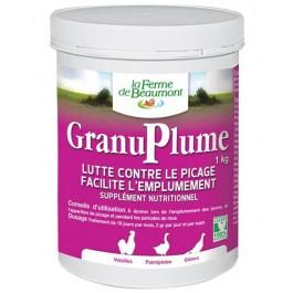 Granuplume 1 kg - La Compagnie Des Animaux