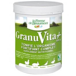 Granuvita + 500 grs - La Compagnie Des Animaux