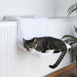 Trixie Hamac Lit radiateur en peluche pour chat - La Compagnie Des Animaux