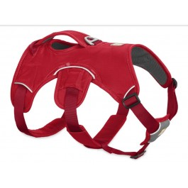 Harnais Ruffwear Web Master Rouge XS - La Compagnie Des Animaux