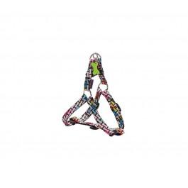 Harnais Bobby Carnaval multicolore S 28/41 cm - La Compagnie Des Animaux