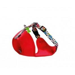 Harnais Bobby Carnaval multicolore M 40/64 cm - La Compagnie Des Animaux