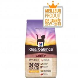 Hill's Ideal Balance Feline Adult Sans Céréales poulet et pomme de terre 1,5 kg - La Compagnie Des Animaux