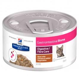 Hill's Prescription Diet Feline Gastrointestinal Biome mijotés 24 x 82 g