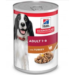 Hill's Science Plan Canine Adult Dinde 12 x 370 grs - La Compagnie Des Animaux