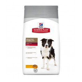 Hill's Science Plan Canine Adult Healthy Mobility Medium Breed Poulet 12 kg - La Compagnie Des Animaux