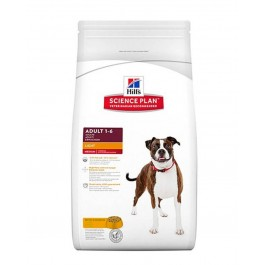 Hill's Science Plan Canine Adult Medium Light au poulet 12 kg - La Compagnie Des Animaux