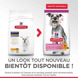 Hill's Science Plan Canine Mature Adult 7+ Mini Light 2.5 kg - La Compagnie Des Animaux