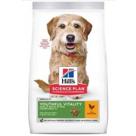 Hill's Science Plan Youthful Vitality Chien Mini adult 7+ poulet 2,5 kg - La Compagnie Des Animaux