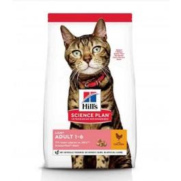 Hill's Science Plan Feline Adult Light Poulet 10 kg - La Compagnie Des Animaux