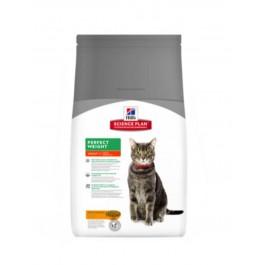 Hill's Science Plan Feline Adult Perfect Weight Poulet 3 kg - La Compagnie Des Animaux