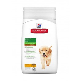 Offre -10 % Hill's Science Plan Puppy Large Healthy Development Poulet 16 kg - La Compagnie Des Animaux