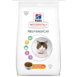 Hill's VetEssentials Neutered Cat Young Adult Poulet 1.5 kg - La Compagnie Des Animaux