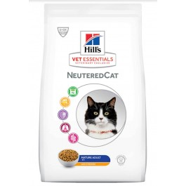 Hill's VetEssentials Neutered Cat Mature Poulet 1.5 kg - La Compagnie Des Animaux