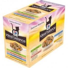 Hill's Ideal Balance Sachets Mix 12 x 85 grs - La Compagnie Des Animaux