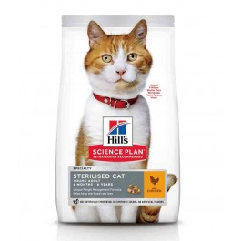 Hill's Science Plan Feline Young Adult Sterilised Poulet 1,5 kg - La Compagnie Des Animaux
