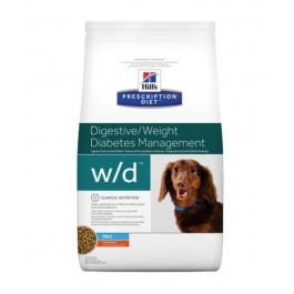 Hill's Prescription Diet Canine W/D MINI au poulet 1.5 kg - La Compagnie Des Animaux