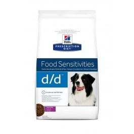 Hill's Prescription Diet Canine D/D Canard et Riz 2 kg - La Compagnie Des Animaux