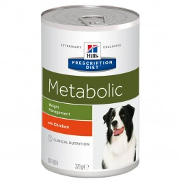 Hill's Prescription Diet Canine Metabolic 12 x 370 grs - La Compagnie Des Animaux