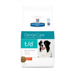 Hill's Prescription Diet Canine T/D 3 kg - La Compagnie Des Animaux