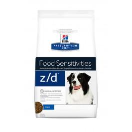 Hill's Prescription Diet Canine Z/D Allergy & Skin Care 3 kg - La Compagnie Des Animaux