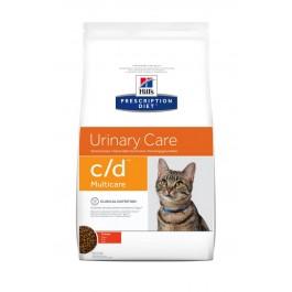 Hill's Prescription Diet Feline C/D Multicare au poulet 1.5 kg - La Compagnie Des Animaux