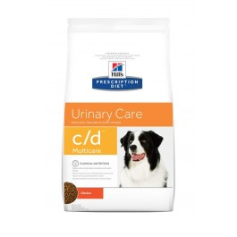 Hill's Prescription Diet Canine C/D 2 kg - La Compagnie Des Animaux