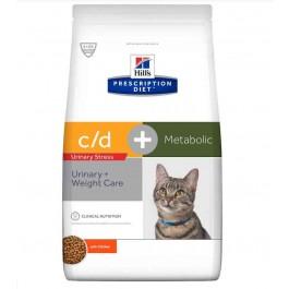 Hill's Prescription Diet Feline Metabolic + Urinary Stress 4 kg - La Compagnie Des Animaux