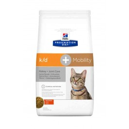 Hill's Prescription Diet Feline K/D + Mobility 2 kg - La Compagnie Des Animaux