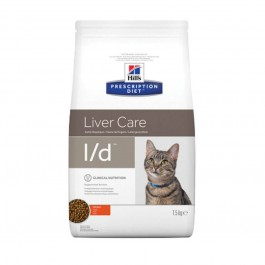 Hill's Prescription Diet Feline L/D 1.5 kg - La Compagnie Des Animaux