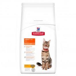 Hill's Science Plan Feline Adult Optimal Care Poulet 10 kg - La Compagnie Des Animaux