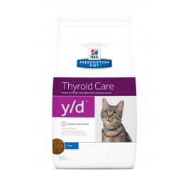 Hill's Prescription Diet Feline Y/D 1.5 kg - La Compagnie Des Animaux