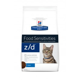 Hill's Prescription Diet Feline Z/D Allergy & Skin Care 2 kg - La Compagnie Des Animaux