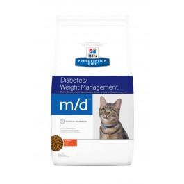 Hill's Prescription Diet Feline M/D 1.5 kg - La Compagnie Des Animaux