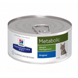 Hill's Prescription Diet Feline Metabolic BOITES 24 x 156 grs - La Compagnie Des Animaux