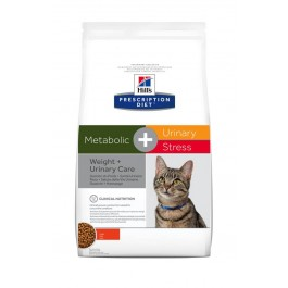 Hill's Prescription Diet Feline Metabolic + Urinary Stress 4 kg - La Compagnie Des Animaux