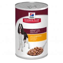 Hill's Science Plan Canine Adult Poulet 12 x 370 grs - La Compagnie Des Animaux