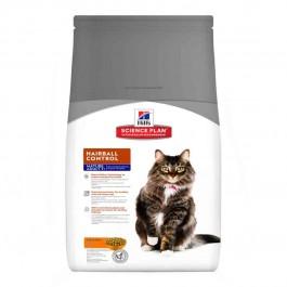 Hill's Science Plan Feline Mature Adult Hairball Control Poulet 1,5 kg - La Compagnie Des Animaux