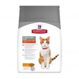 Hill's Science Plan Feline Young Adult Sterilised Poulet 1,5 kg - La Compagnie Des Animaux