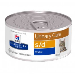 Hill's Prescription Diet Feline S/D BOITES 24 X 156 grs - La Compagnie Des Animaux