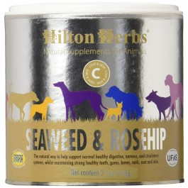 Hilton Herbs Seaweed & Rosehip chien 60 g - La Compagnie Des Animaux