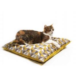 Homycat coussin pour chat XL Jaune