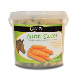 Horse Master Nutri Sweet Friandise Carotte 1 kg - La Compagnie Des Animaux