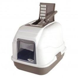 Imac Easy Cat Maison de toilette chat beige - La Compagnie Des Animaux
