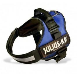 Harnais Power Julius-K9 Bleu L 65 à 85 cm - La Compagnie Des Animaux