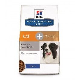 Hill's Prescription Diet Canine K/D + Mobility 12 kg - La Compagnie Des Animaux