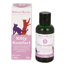 Hilton Herbs Kitty Komfort Digestif Chat 50 ml - La Compagnie Des Animaux