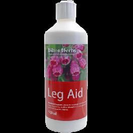 Hilton Herbs Leg Aid Ligaments Tendons Cheval 250 ml - La Compagnie Des Animaux