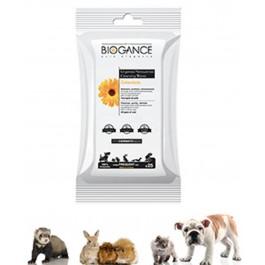 Biogance Lingettes Nettoyantes pour Chat Chien et Petits Mammifères - La Compagnie Des Animaux